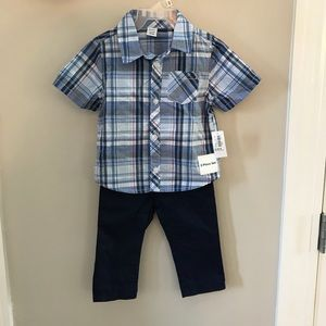 NEW OLD NAVY matching set for baby boy